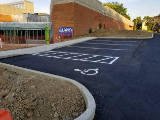Have a parking lot that needs some help? Our line striping services and line painting services is a perfect fit for organizing your parking lot