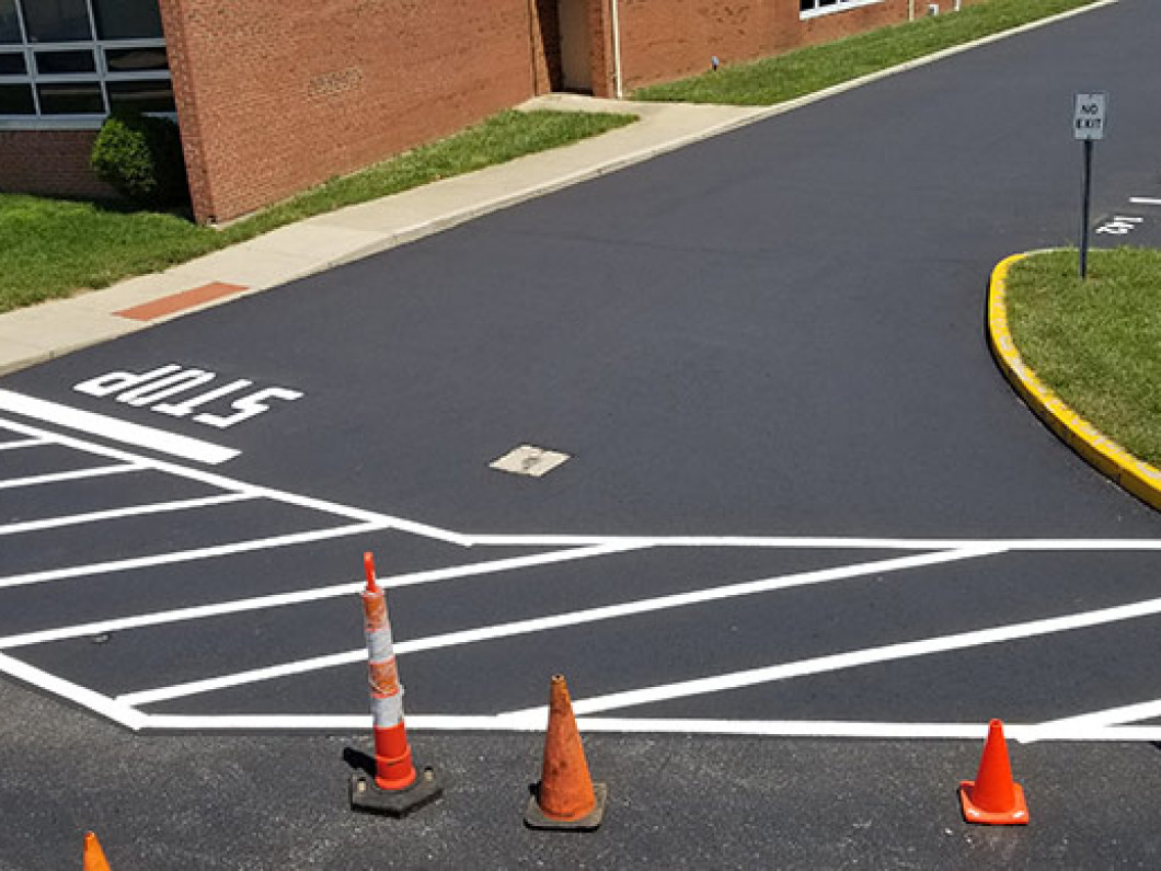 3 benefits of restriping your parking lot
